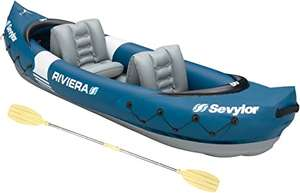 Sevylor Riviera 2-Person Canadian Inflatable Kayak with Paddle, Integrated Pressure Gauge and Repair Set £87.83 delivered at Amazon