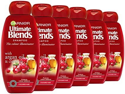 Garnier Ultimate Blends Argan Oil Coloured Hair Shampoo, 360 ml, Pack of 6 £11.88 (Prime) @ Amazon (+£4.49 Non-prime)