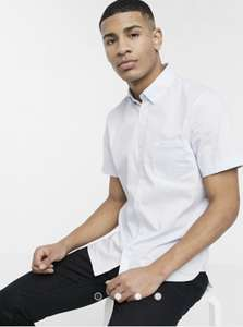 ASOS - Lacoste Short Sleeve Shirt - Pale Blue - £28 with code (£4 delivery or free if over £35 spend)