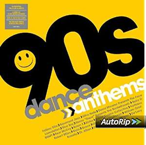 Various - 90s Dance Anthems 2 x LP Vinyl £15.99 (+ £2.99 delivery non-Prime) @ Amazon
