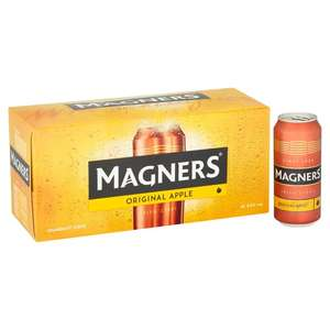 Magners Cider.10 Can Pack. 2 for £10. Instore Co-op (Croydon)