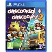 Overcooked 1 and 2 Double Pack PS4 £15.99 (£3.95 delivery) @ Argos