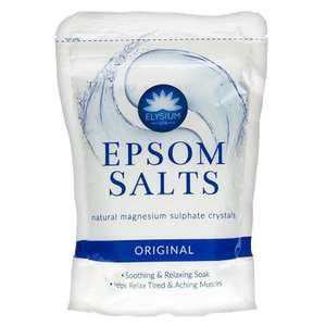Elysium Epsom Salt £1.50 at Food Warehouse (Perry Barr one stop shopping centre)