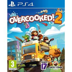 Overcooked 2 [PS4] £6.86 @ PlayStation PSN Turkey (Using Revolut disposable Virtual VISA Card)