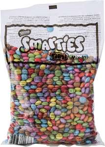 NESTLÉ SMARTIES Mini Smarties Mix In Chocolate bag, 500 g £5.65 (£5.37 with S&S / + £4.49 Non-Prime) at Amazon