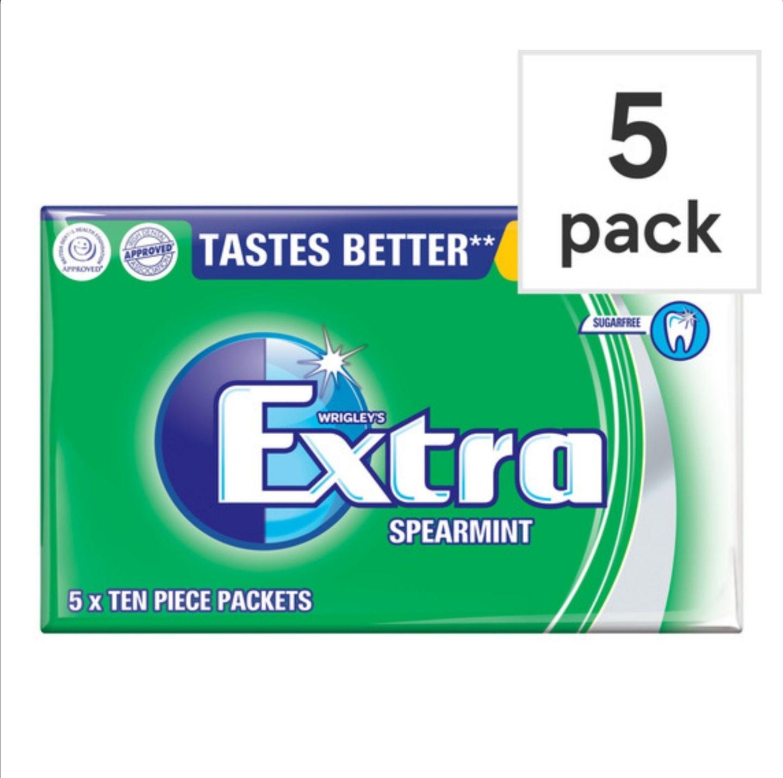 Wrigley's Extra Spearmint 5 Packs - 50p Instore @ Morrisons (Birmingham)