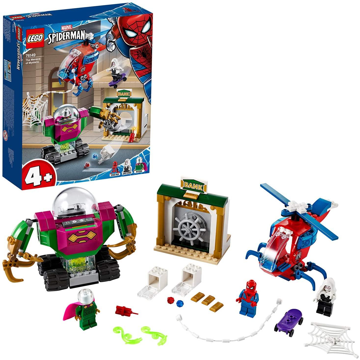 LEGO 76149 Super Heroes Marvel Spider-Man The Menace of Mysterio £21.99 delivered @ Smyths