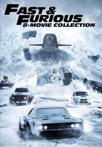 Fast and Furious Collection 1-8 - £23.99 @ Google Play