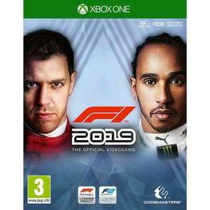 F1 2019 for XBox - disc £19.95 @ The game collection