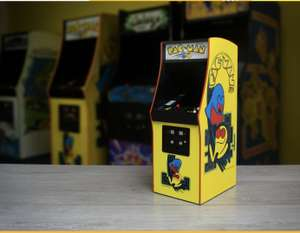 Official Pac Man Quarter Size Arcade Cabonet - £131.49 (OR £118.34 with code WELCOME10 for first order) @ Bandai