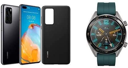 HUAWEI P40 128 GB 6.1 Inch, 5G, 50 MP Leica Camera, 8 GB RAM, SIM-Free Dual SIM with HUAWEI Watch GT Active - £699.99 @ Amazon