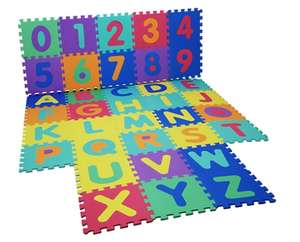 Kids Foam Puzzle Play Mat £8.98 delivered @ Groupon