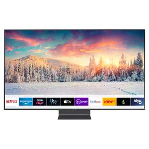 """£200 off Samsung QE65Q90R 65"""" 4K QLED TV with Apple TV App - £1,799 With Code @ Hughes"""