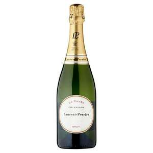 Laurent-Perrier La Cuvée NV Champagne 750ml - £27 from Sainsbury's (Min basket £40 + up to £7 delivery)