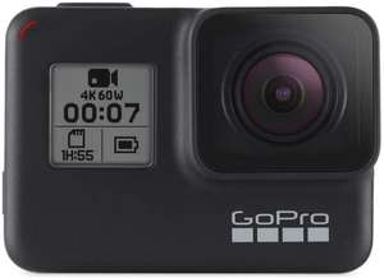 GoPro HERO7 Black 4K Action Camera + SanDisk Extreme 64GB micro SDHC - £219.99 @ GoPro