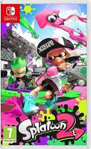 Splatoon 2 Switch game pre-owned + 2 years warranty £35 + £1.95 p&p (£36.95 total) delivered @ CeX