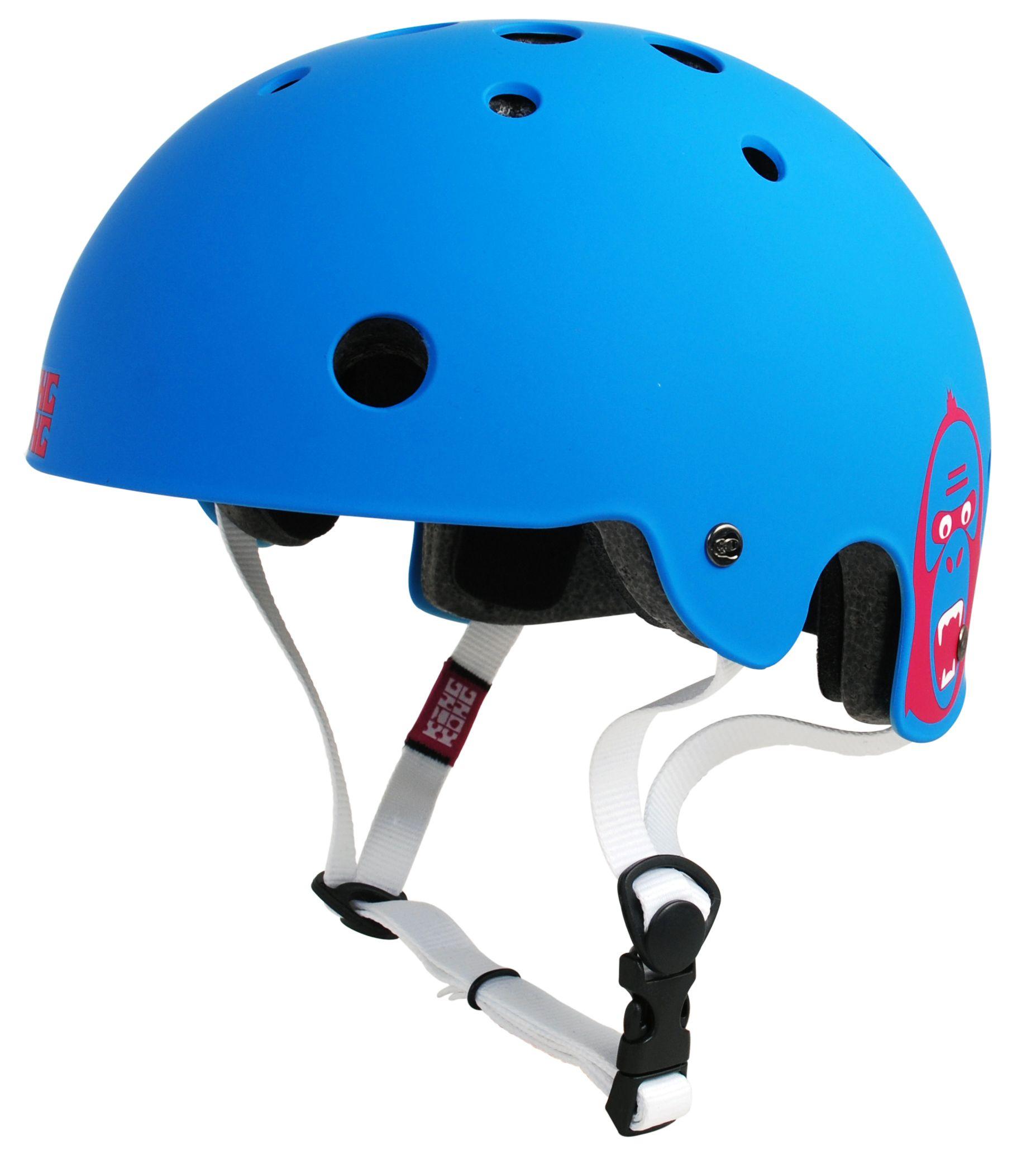 King Kong BMX Helmet v2 Matt Cyan £10.99 @ customriders / eBay