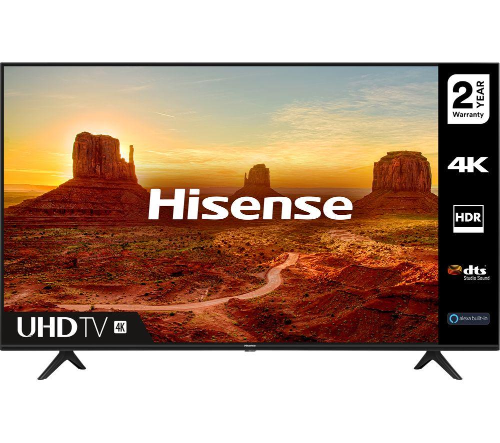 Hisense 58A7100FTUK 58 Inch 4K Ultra HD Smart TV £329.89 @ Costco