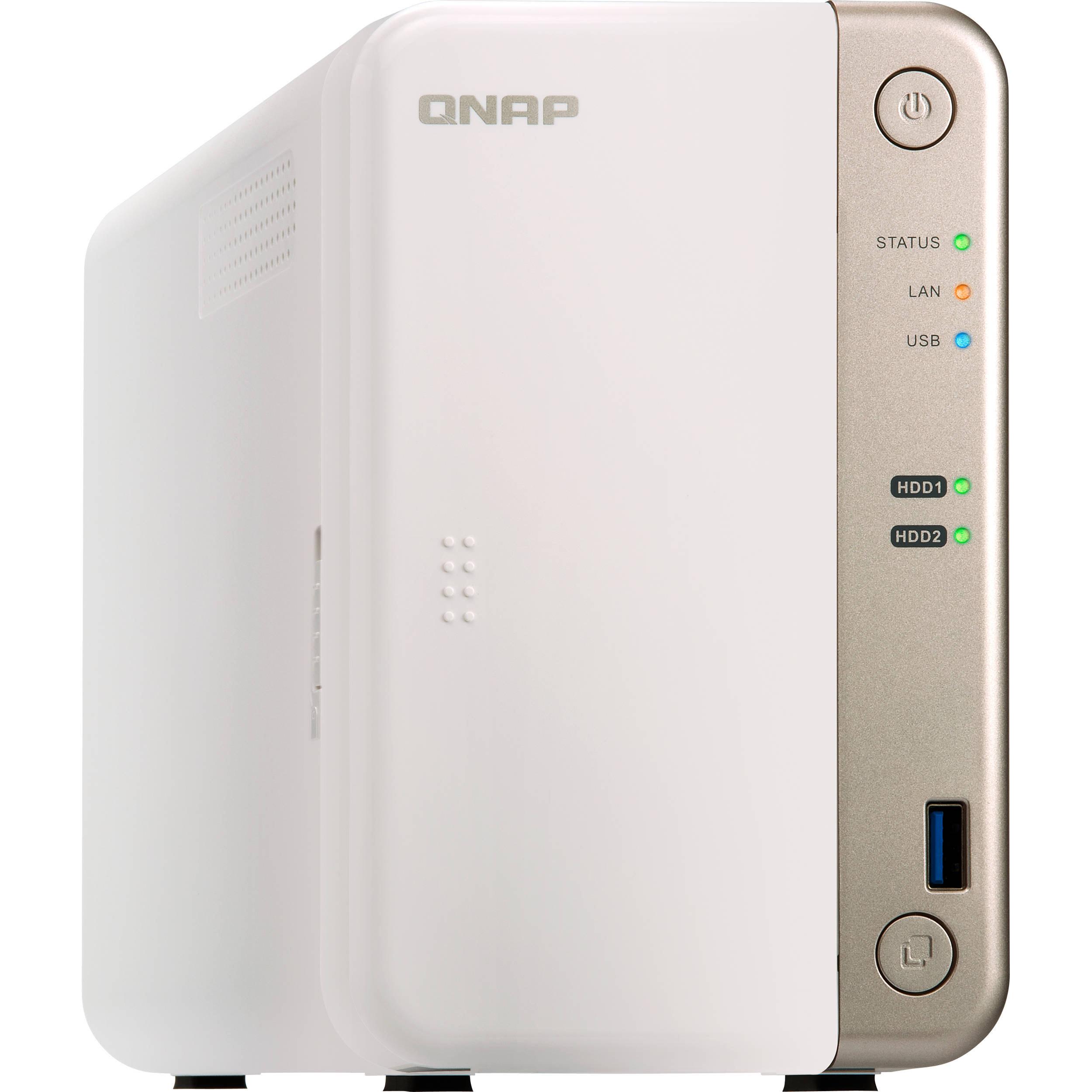 QNAP TS-251B-4G, 2bay, 4GB RAM, Intel Dual-core CPU, PCIe slot x1, NAS £278.51 at Amazon
