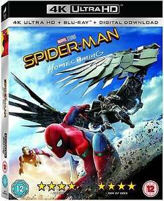 [4K UHD] Spider-Man Homecoming 4K Ultra HD Blu-Ray + 12 Page Comic & Slip Cover - £8.49 delivered @ Mediasellersuk / ebay