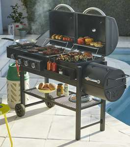 20% off selected barbecues at Homebase e.g.Texas Dual Fuel With Smoker BBQ £276