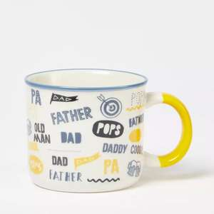 Dad / Fathers Day Themed Mugs - £3.50 Delivered @ Debenhams ( More in OP )