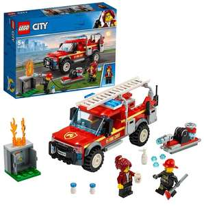 LEGO 60231 City Town Fire Chief Response Truck Set with Fire Engine and Water Cannon £13.99 Amazon Prime / £18.48 Non Prime