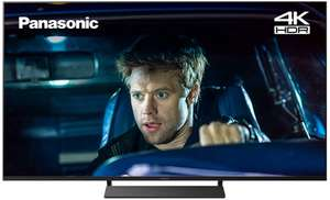 """Panasonic TX-65GX700B 65"""" Smart 4K Ultra HD TV with HDR10+, HLG and Freeview Play - £549 delivered with code @ Hughes"""