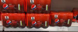 6 cans of Pepsi Max Raspberry soda - £1.69 in-store @ Home Bargains (Heaton Park)