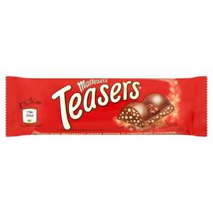 Maltesers Single Bar – 5 for £1 or 39p each in-store @ Home Bargains (Heaton Park) discount offer