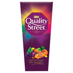 Quality Street Assorted Chocolate Toffee and Cremes Box 240g £2 @ Sainsburys