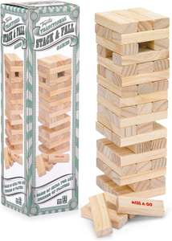 Stack & Fall Tumble Tower Game (Jenga imitation) £5.99 Prime or £6.98 Non Prime at Amazon Prime