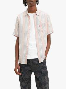 Mens Levi's Short Sleeved Shirts - Now £20.00 (each) Standard postage £3.50 (free if spending £50 +) John Lewis & Partners