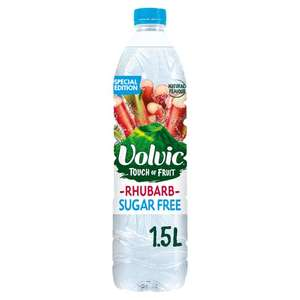 Volvic Touch of Fruit Rhubarb 1.5 litre - 29p at Home Bargains Stevenage