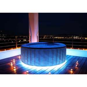 4 man Hot Tub - Integrated pump, whisper technology, LED strip £649.95 at All Round Fun