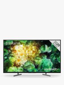 Sony Bravia KD49XH8196 (2020) LED HDR 4K Ultra HD Smart Android TV, 49 inch with Freeview HD - £699 @ John Lewis & Partners