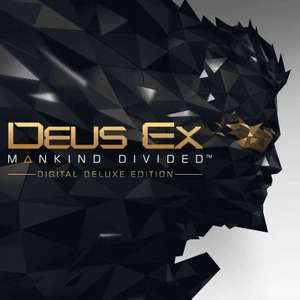 [PS4] Deus Ex: Mankind Divided Digital Deluxe Edition - Inc Base Game & Season Pass - £4.89 / Season Pass - £2.39 @ PlayStation Network