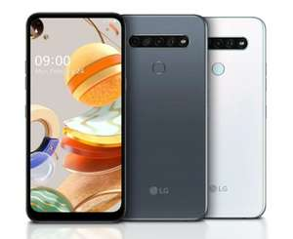 LG K61 128GB 4GB Dual Sim Smartphone 4000mAh Battery - £229.98 @ Clove Technology