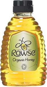 Rowse Organic Squeezable Honey 340g £2.95 at Amazon (£2.80 with S&S / + £4.49 non Prime)