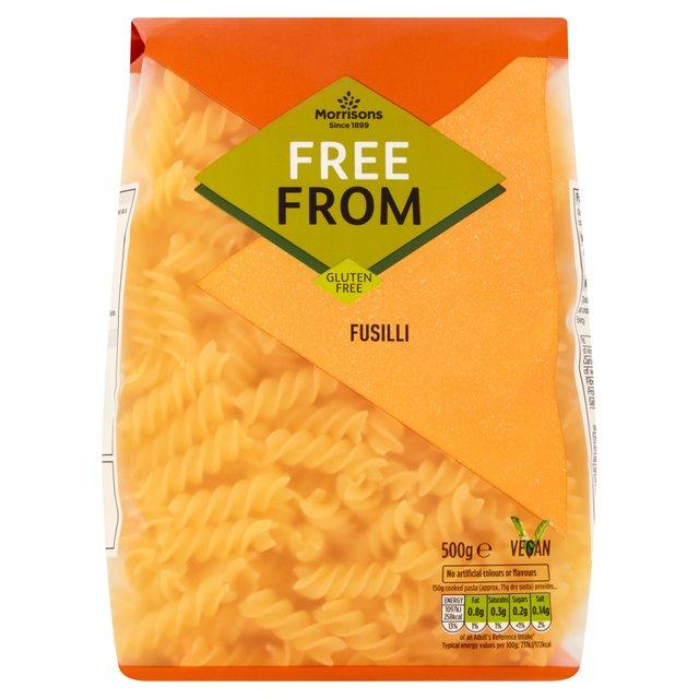 Morrisons Free From Fusilli 500g 60p @ Morrisons