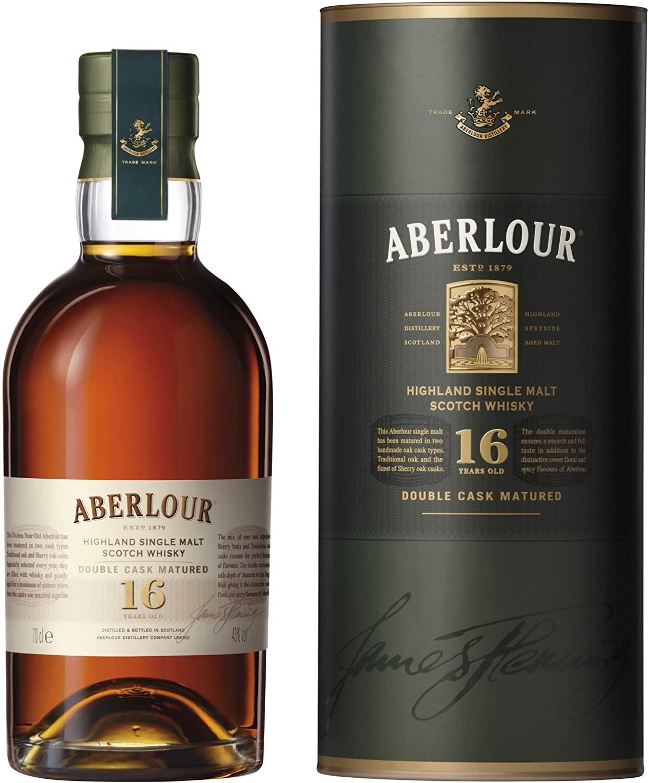 Aberlour 16 Year Old Single Malt Scotch Whisky, 70 cl £51.44 @ Amazon Prime NOW (Manchester)