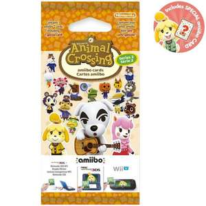 Animal Crossing amiibo Cards Pack - Series 2 Nintendo Store (Max 5 packs per order) at Nintendo Shop for £5.48 delivered
