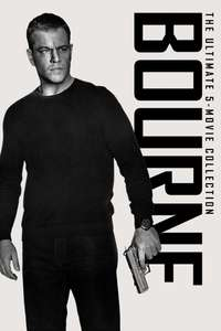 Bourne 5 movie collection (all 4K except Bourne Identity) £9.99 @ iTunes Store (£9 using an itunes giftcard from Tesco)