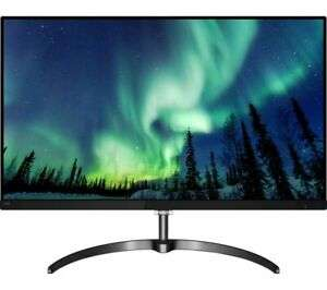 "Philips 276E8VJSB 27"" IPS LED 4K UHD Monitor, £217.55 at Currys eBay"