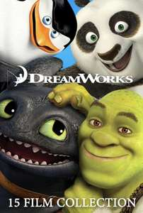 Dreamworks Animation 15 Film Collection @ iTunes Store for £29.99