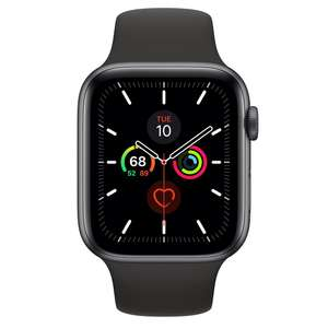 Refurbished Apple Watch Series 5 GPS, 44mm Space Grey £369 (Delivered) @ Apple Store