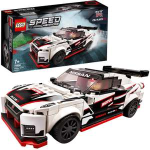 LEGO 76896 Speed Champions Nissan GT-R NISMO Racer Toy with Racing Driver Minifigure at Amazon for £12.99 Prime (+£4.49 non Prime)