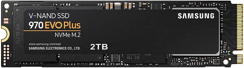 Samsung 970 EVO Plus 2 TB PCIe NVMe M.2 - Amazon.de for £386.81 / £373.28 w/fee free card