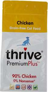 Thrive Premium Plus Cat Food (Dry) Chicken 1.5kg £9.99 Amazon Prime / £14.48 Non Prime