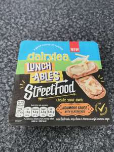 Street food lunch-ables 3 for £1 at Farmfoods Southend